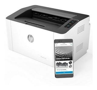 Impresora Laser Negro Hp 107w Wi Fi-aj Hogar