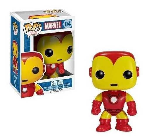 Muñeco Funko Pop Iron Man Marvel 04 Original