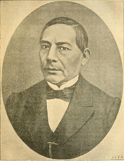 Lienzo Tela Benito Juarez García 90x117cm