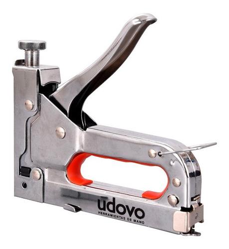Engrampadora Clavadora Manual Presion Ajustable Udovo 4-14mm