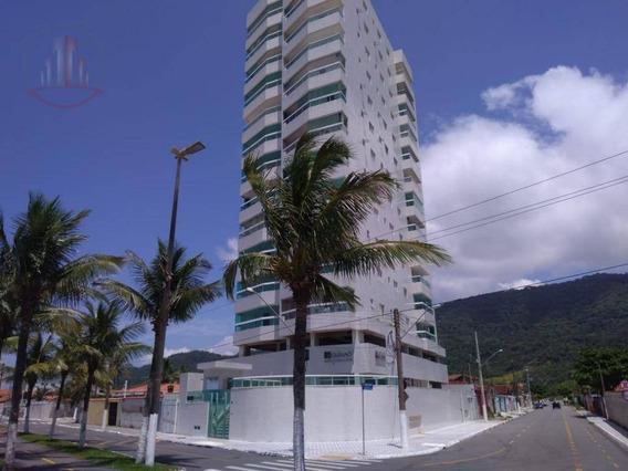 | -espetacular Apartamento 3 Dormitórios De Frente Para O Mar- | - Ap0717
