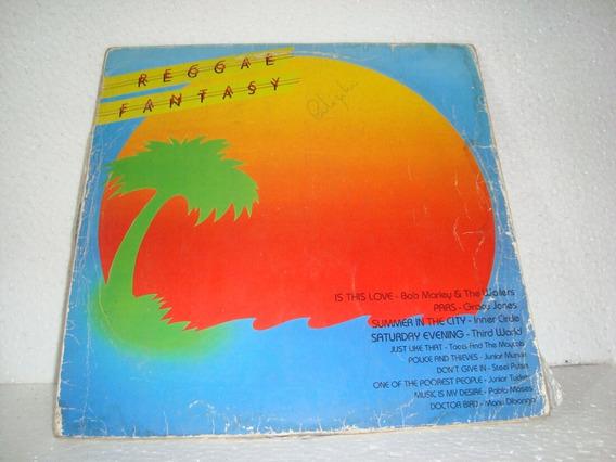 Lp Reggae Fantasy Vários 1980 Br Raro Bob Marley Steel Pulse