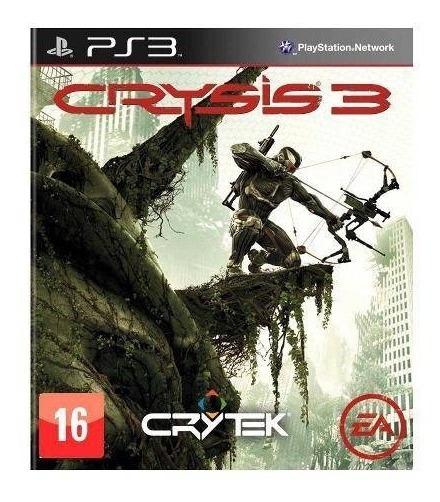 Crysis 3 - Ps3 Mídia Física