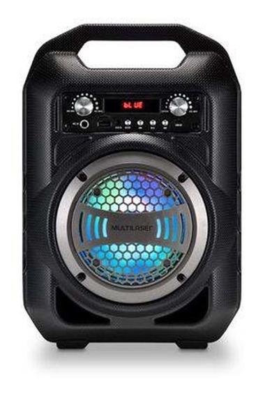Caixa De Som Portátil Sp255 Bluetooth 50w Preto - Multilaser