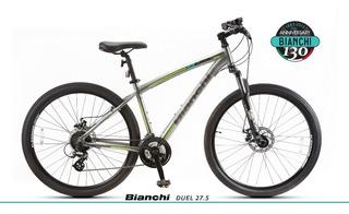Bicicleta Mtb Bianchi Duel 27.2 24 Vel + Disco Aluminio