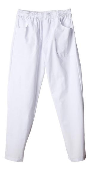 Pantalón Naútico Médico Profesional Grafil Blanco Talle Xxl