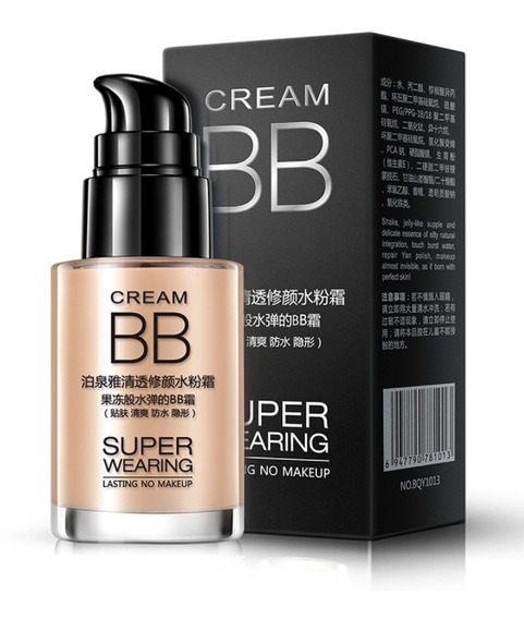 Bb Cream Bioaqua Super Wearing Cor Natural 30ml Promoção