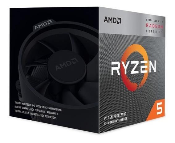 Processador Amd Ryzen 5 3400g - 4c/8t - 4.2ghz - 6mb - Am4