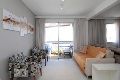 Apartamento No 24º Andar Mobiliado Com 2 Dormitórios E 2 Garagens - Id: 892931281 - 231281