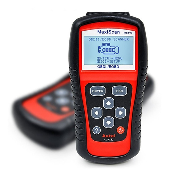 Scanner Automotivo Autel Ms509 Obd2 Diagnostico Defeitos