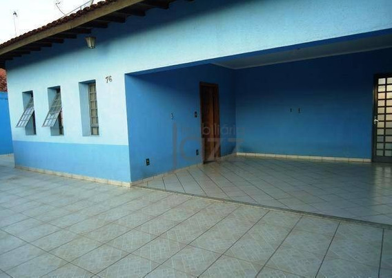 Casa Residencial À Venda, Bosque Das Palmeiras, Campinas. - Ca1998