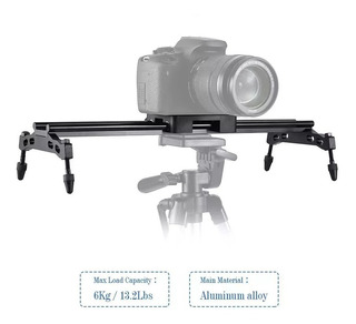 Sgg Video Dslr Camera Slider Riel Dolly Largo 40 Cm