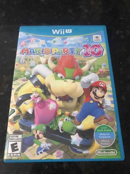 Jogo Nintendo Wii U Mário Party 10 Original Mídia Física