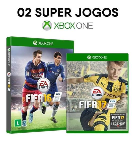 Fifa 16 + Fifa 17 - Xbox One Mídias Físicas Originais Novas
