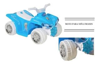 Nueva Moto Disney Princesa Frozen Moto Eléctrica Xtr P