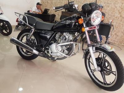 Suzuki Intruder 125 2014 Preta 36000 Km