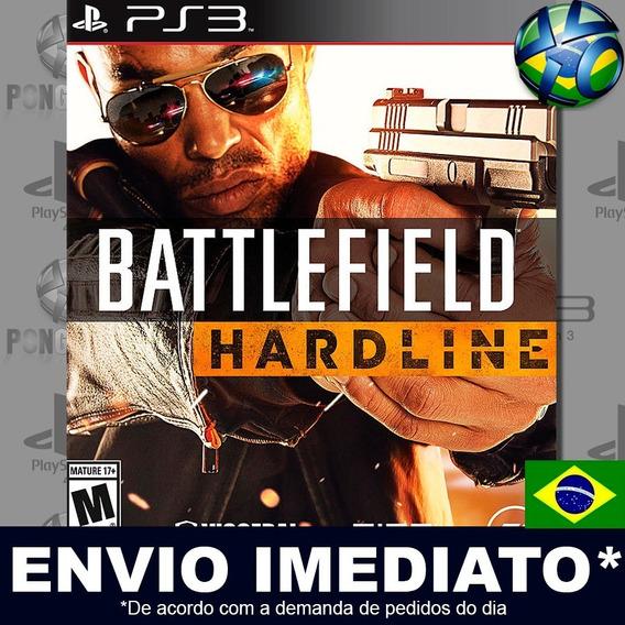 Battlefield Hardline Ps3 Digital Psn Dublado Português Pt Br Jogo Em Promoção