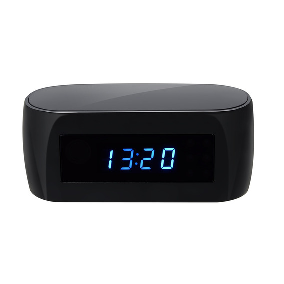 Cámara Oculta Reloj Infrarojo Wireless Graba 64 Gb 1080 Hd