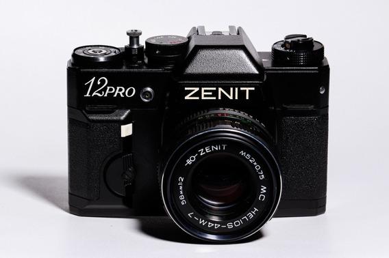 Câmera Zenit 12pro E Lente 50mm