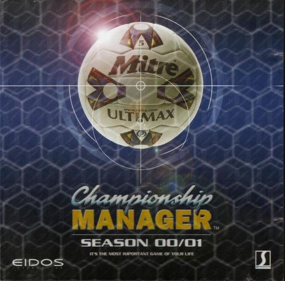 Championship Manager 00/01 Pc Original Digital