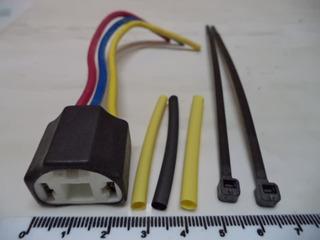 Conector, Socates H4 +termocontraible + Tirrajes (1,50)
