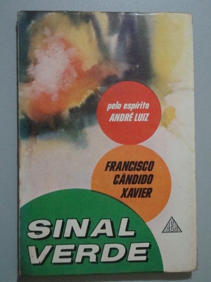 Livro Sinal Verde - Francisco Cândido Xavier