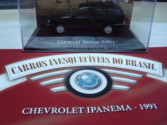 Miniatura Carros Inesquecíveis Do Brasil Ipanema 1991 1/43
