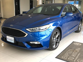 Ford Fusion 2.7 Sport At Ac Abs Ee Vp Qc 2017 Azul