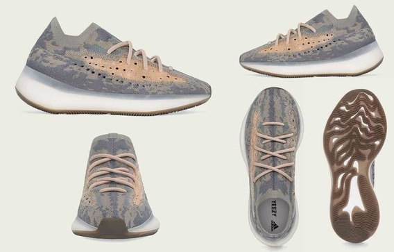 Tênis adidas Yeezy Boost 380 Mist - Tam 42 Br / 10 Us