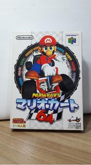 Mario Kart 64 Japonês Nintendo 64 Na Caixa