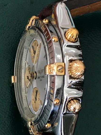 Relógio Breitling Aço Ouro Automático 38mm