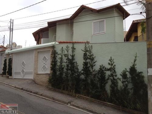 Imagem 1 de 8 de Sobrado , Com Piscina - 02 Vagas - R$ 850.000,00 - St17023