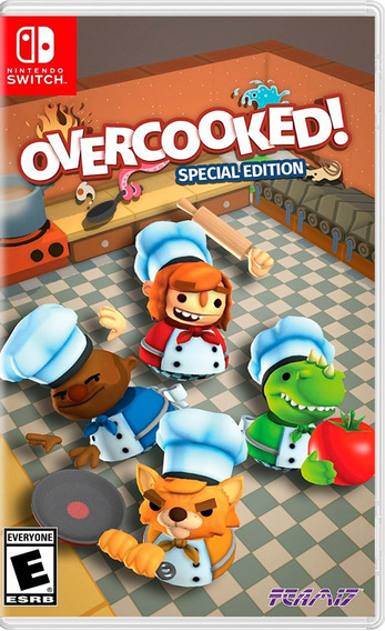 Overcooked! Special Edition Switch Nsw Nuevo
