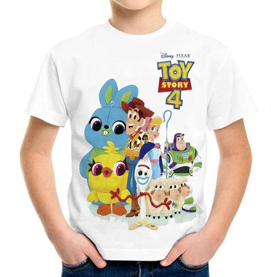 Playera Toy Story 4 Disponible Niño Caballero Y Dama