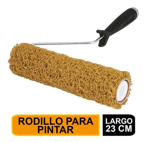 Imagen 1 de 6 de Rodillo Para Pintar, Felpa 9 X 7/16', De Pvc Truper 13895