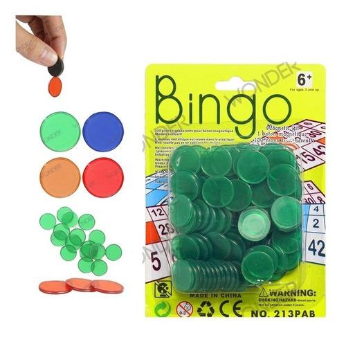 Fichas Para Bingo X 100