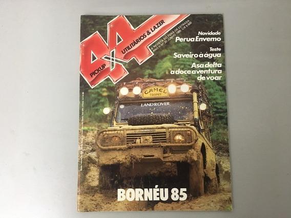 Revista 4x4 & Pick-up N.o 20 - 1985