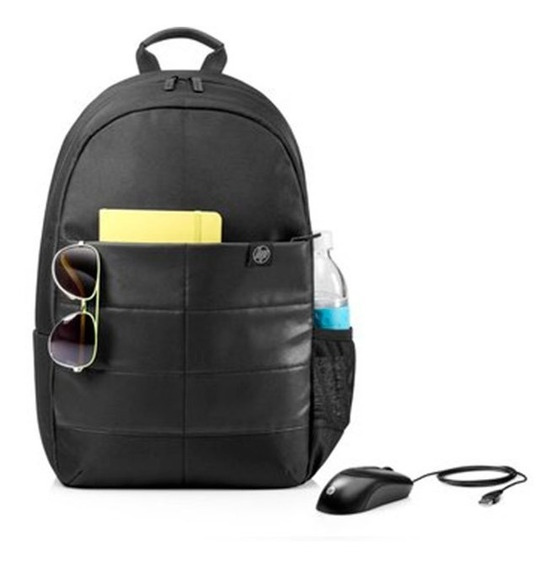 Kit Backpack Mochila Hp 15.6 + Mouse Alambrico Hp X900