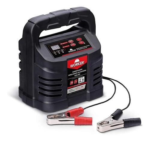 Imagem 1 de 4 de Carregador De Baterias 12v Inteligente 127v Worker Cbs240