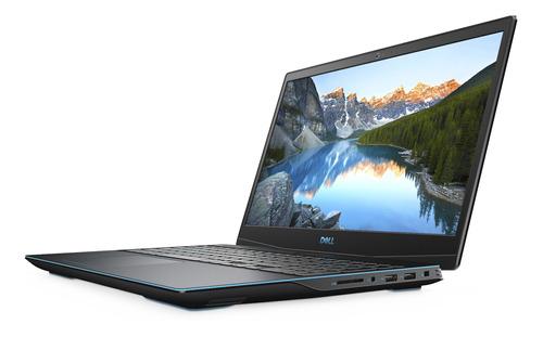 "Notebook gamer Dell G3 3500 negra 15.55"", Intel Core i5 10300H  8GB de RAM 512GB SSD, Nvidia GeForce GTX 1650Ti 120 Hz 1920x1080px Windows 10 Home"