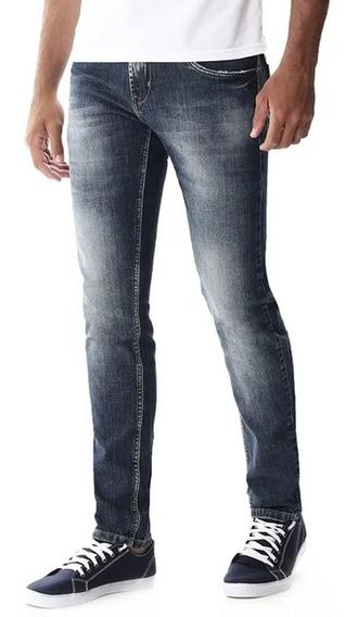 Calça Jeans Masculina Sawary Skinny