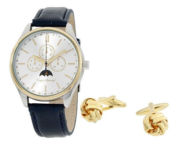 Reloj English Laundry Silver Elwn5437s675024