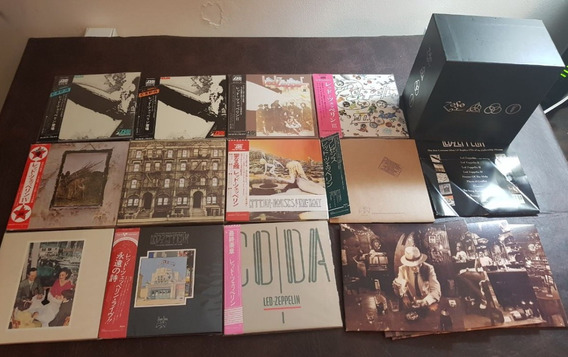Led Zeppelin Box Set - Definitive Collection 100% Japonés
