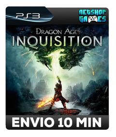 Dragon Age Inquisition - Psn Ps3 - Legendas Pt-br - Envio Ja