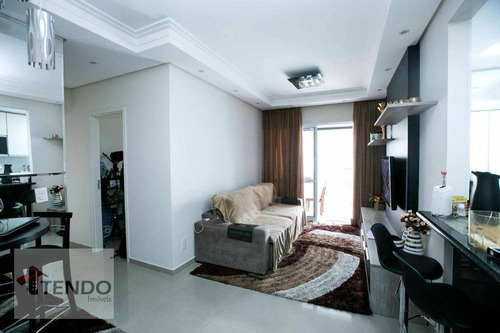 Imagem 1 de 30 de Imob01 - Apartamento 86 M2 - 3 Dormitórios 1 Suíte - Independência - São Bernardo Do Campo. - Ap0393