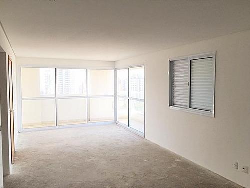 Apartamento Alto Padrão Com 137m² No Bairro Jardim! - Santo André - Ap0282