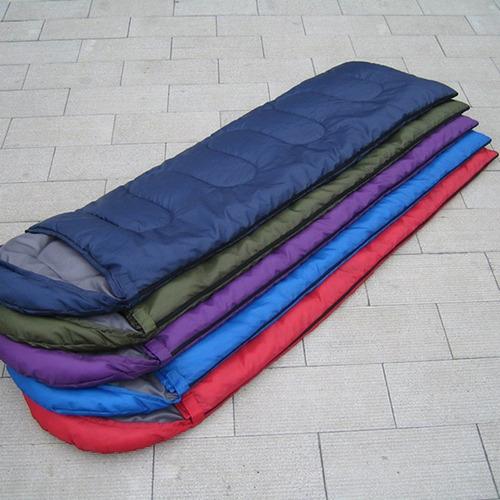 Saco de Dormir para Acampar al Aire Libre Grueso Aislamiento c/álido Tipo de sobre Rectangular Saco de Dormir