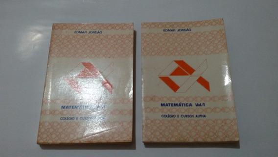 Matematica Vol 1 Colegio E Cursos Alpha