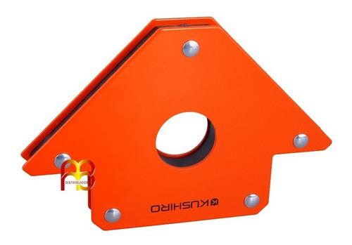 Escuadra Magnetica Para Soldar Soporte Herreria 34 Kg 5 PuLG