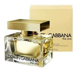 Perfume The One Dolce Gabbana Mujer Original 75 Ml